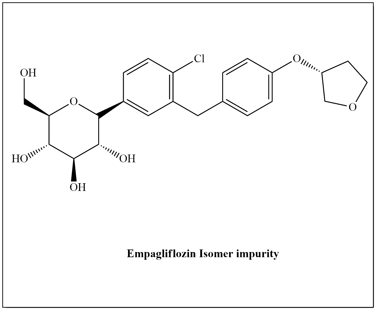 Empagliflozin Isomer Impurity