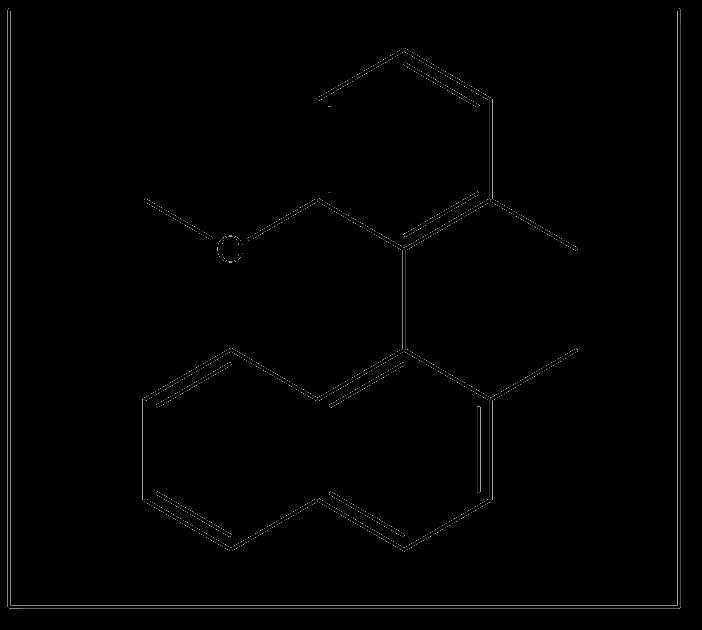 MeO-methylphenyl-methylnaphthalene