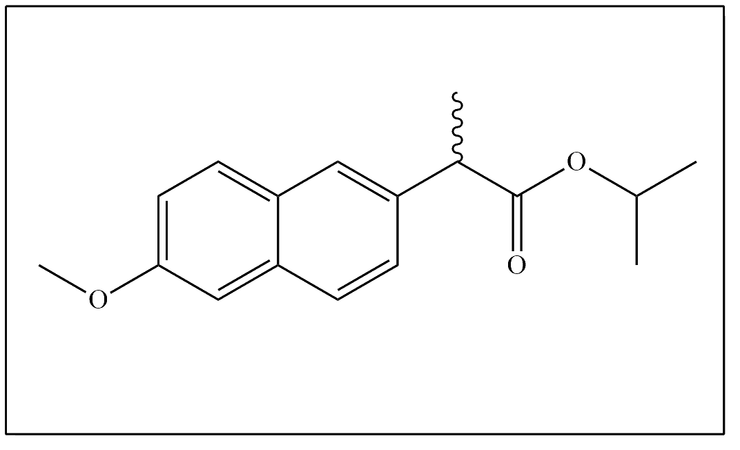 Naproxen impurity - 4 (rac-Naproxen-2-propyl ester)