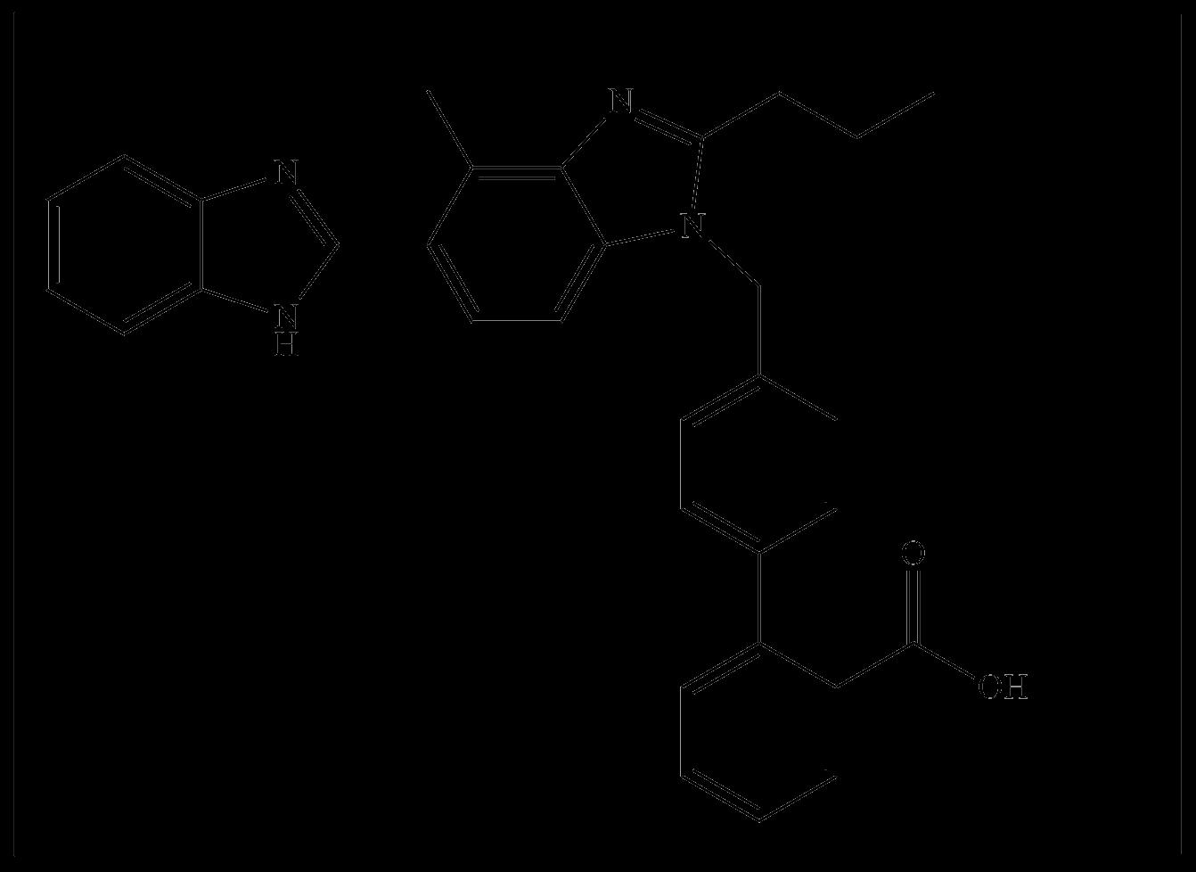 Telmisartan impurity-1 (Desmethyl Telmisartan)